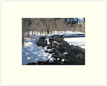 Little Big Wood River, Ketchum, Idaho; USA by Pbratt79