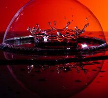 Crown and Bubble by Jay Stockhaus