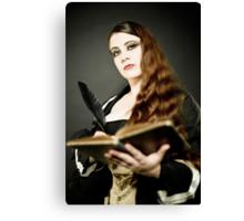 La Belle Dame Canvas Print