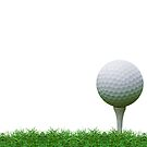 golf ball by hinnamsaisuy