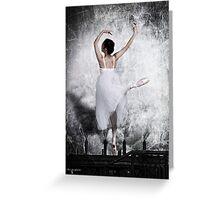The Steel Dance Greeting Card