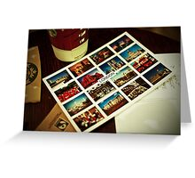London Icons Greeting Card
