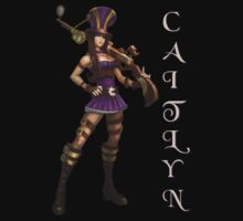 Caitlyn, the Sheriff of Piltover by keany16