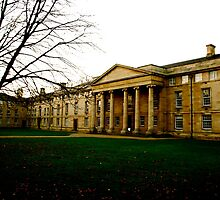 Downing College Chapel by Claire Elford
