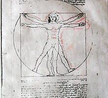 After Leonardo by Colin Bentham