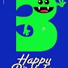HAPPY BIRTHDAY 3 by peter chebatte
