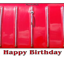 Happy Birthday - Red Car by Gillian Cross