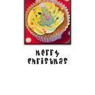 Merry Christmas - Cupcake by Gillian Cross