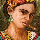 Frida and her Habanos 3 by amoxes