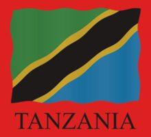 Tanzania flag by stuwdamdorp