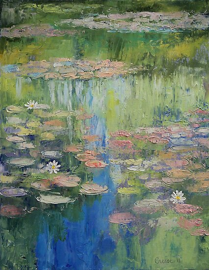 Water Lily Pond by Michael Creese