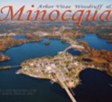 Island of Minocqua aerial by tostenson