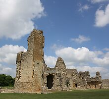 Digital Photo - Sherborne Old Castle by paulaross