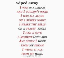 Poem: Wiped Away by theresurrection