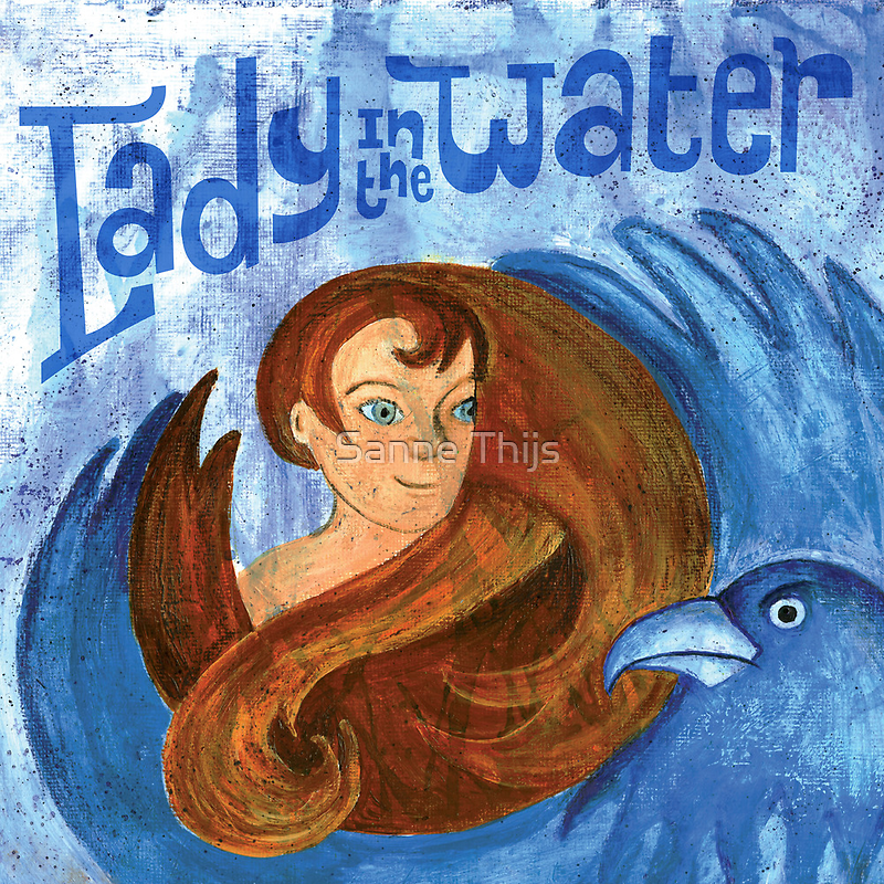 Lady in the water by Sanne Thijs