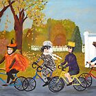 Halloween Bike Ride by Jeanne Allgood