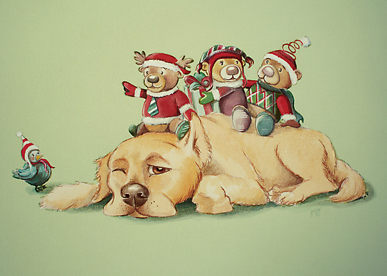 Beary Christmas by Sarah  Mac