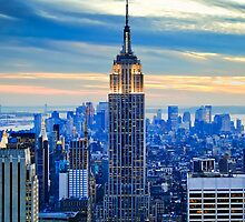Empire State Building ~ New York City ~ USA by Sabine Jacobs