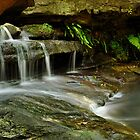 Sydney Waterfalls - Moores Creek Cascades #2 by vilaro Images