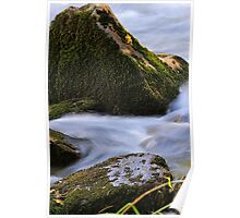 Textured - Merced River, Yosemite National Park, CA Poster