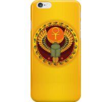 Egyptian sacred bug a scarab iPhone Case/Skin