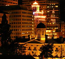 Pioneer Courthouse Square in Downtown Portland by patrickhvr