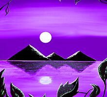 """Black Pyramids On Nile"" by Steve Farr"