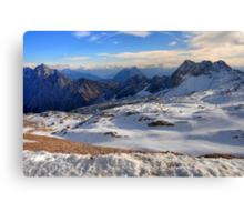 Mountain Wetterstein Canvas Print