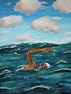 The Swimmer by Mike Paget