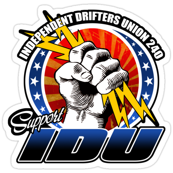 Independent Drifters Union 240 Stickers by JDMSwag