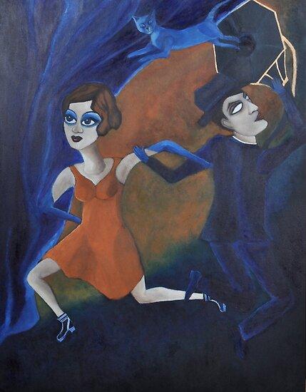 Artnap V: Noir by zoequixote