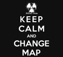 Keep Calm And Change Map by Royal Bros Art