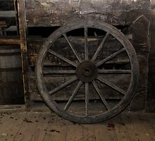 Old wheel by MiskellyTrevor