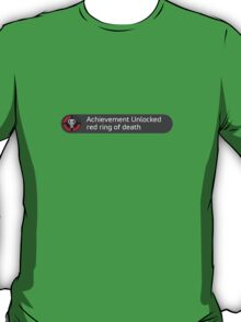 Achievement unlocked - red ring of death T-Shirt