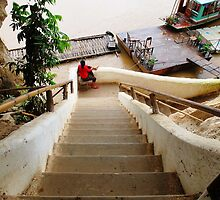 Stairs to the River © by Ethna Gillespie