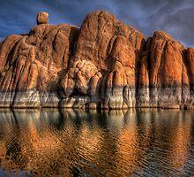 Watson Rock Ripple by Bob Larson