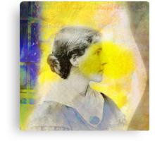 The Yellow Wallpaper Canvas Print