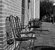 Coffee Shop Chairs by Brandon Gabler