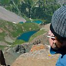 His Best View Ever of Blue Lakes by Roschetzky