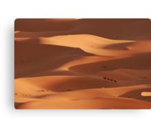 Caravan across the Sahara Desert Canvas Print