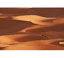 Caravan across the Sahara Desert Photographic Print