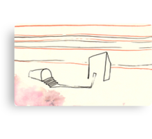 Land Line - 6 Canvas Print