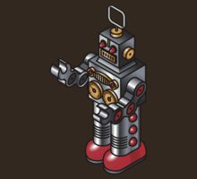 Tin toy robot by Zern Liew