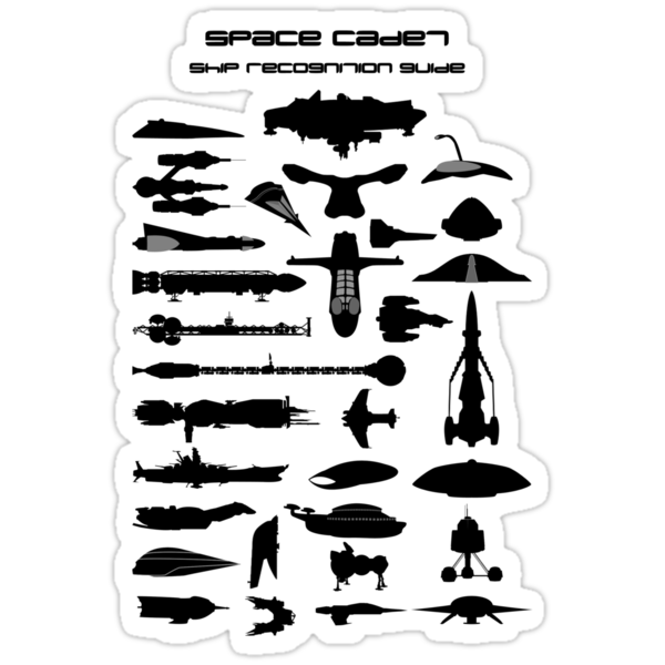 Space Cadet Ship Recognition Guide by mime666