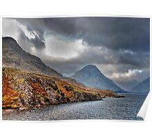 Wast Water - Lake District Poster