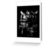 Dalek Poster Greeting Card