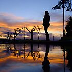Reflected silhouette by Dimitris Barelos