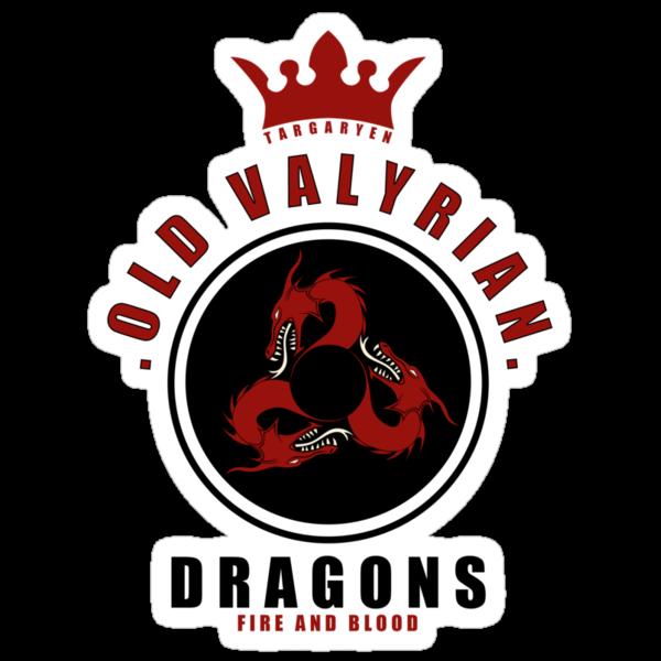 House Targaryen Sports Badge by liquidsouldes