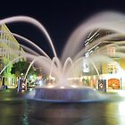 Nocturnal Fountain by DCCastelhano