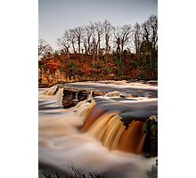 River Swale In Flood Photographic Print